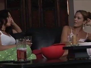 Sorority slumber sluts Lesbian slumber party part 2