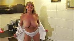 Full Back Knicker's  Police Woman Full Strip