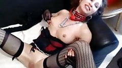 Bitch used by her master, anal, spit, spanked, gagged