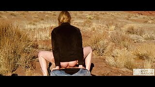 Red Knees, Red Ass, Red Clay -- hard anal & piss domination