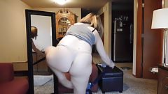 Trying clothes milf 2