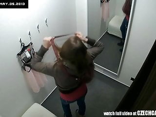 Czech teen gallery - Beautiful czech teen snooped in changing room