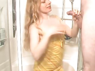 Pissing in girls mouths - Pissing into nice girls mouth