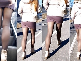 Mini skirts pics sexy 101 girl with sexy legs in mini skirt and pantyhose