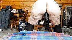 nude Fat milf butty