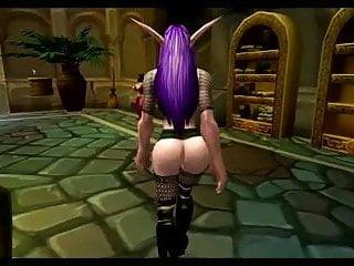 Elf hentai sex Hot night elf