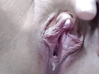 Photo show vagina - Annabelle shows us her creamy vagina ...