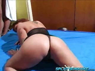 Free quicktime spunk Janca gets fucked and spunked on