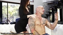 Teen Lacy Channing Fucks For Masseuse Position