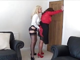 C vibrator - Angelica fucked roughly by madame c