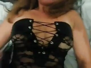 Black and wild fucking - Fucked like a whore, wild sex in black lingerie