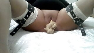 Slave Nadia's first anal and pussy fuck – REAL AUDIO