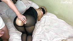 Stepfather fucked his stepdaughter in the ass after school