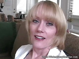 Mature cell phone phone sex number - Amateur blonde gilf sucks cock while on her cell phone