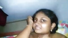 Tamil hot young college girl facial by her boyfriend