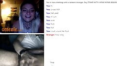 Huge cumshot for two beauties on omegle