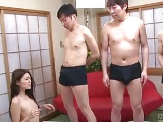 Asian girl lineups - Subtitled japanese av star mona takei blowjob lineup