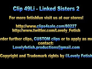 Marias blue teen links Clip 49li - linked sister 2 - sale: 18