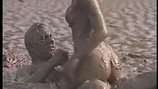 hot girl  fucked at mud