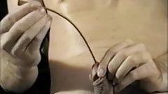 Retro Gay Urethra Insertion
