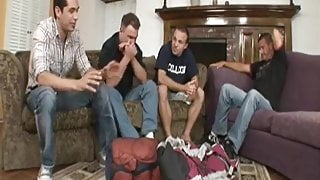 Hotwife and cuckold - bisexual gangbang