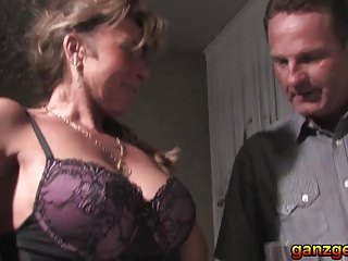 Cougar shares cock with husband Deutsche swingers 2 - german milfs share husbands