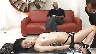 Hot milf plays with toys on her tight vag
