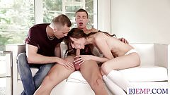 Big dick for bi curious couple