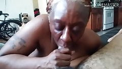 Freaking with mature slut tryna get off nut