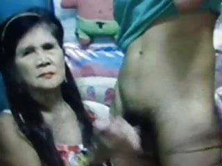 Tranny asian Granny and tranny and boys 2