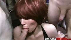 Horny Pixiee Little and Porscher Wells big cock sucking orgy