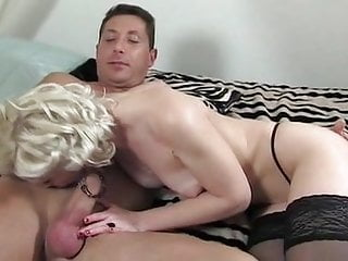 Asha porn - Black stockings blonde asha bliss hard fucking