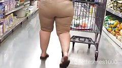 lesbian Candid big juicy booty Pawg dpl butt
