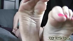 You are lucky to worship such perfect feet