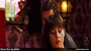 Monica Bellucci nude and erotic movie scenes