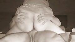Horny cheating Uzbek wife riding her Russian boss