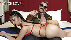 TOUGHLOVEX Casting big tit Asian cum slut Jade Kush