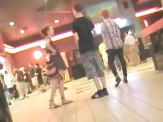 Hidden camera voyeur movies - Upskirt at movie theatre