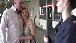 Couples Fuck in Public