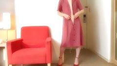 Red dress story pink chastity 2 sissy slave femboy