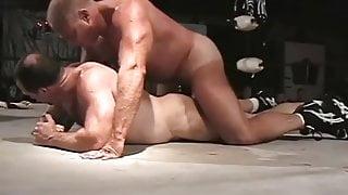 Muscle Bears Wrestling