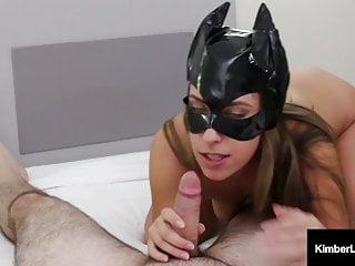Cum kittens - Kute kitten kimber lee wants your cum on her hot kitty mask