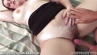 BBW Hairy MILF Fucked like A Slut