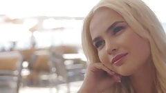 vixen, stunning lika has passionate reunion with boyfriend