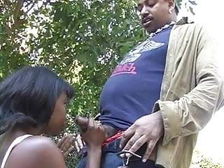 Wet black slut Black dude bangs a wet ebony slut