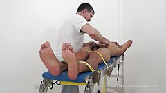 Daddy Mike Tickles Asian Boy Argie