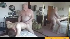 Fucked by two daddies