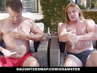 Sucking granddads dick Daughterswap - granddads fucks mischievous grand daughters