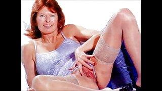 Wife Strips & Opens Moist Cunt