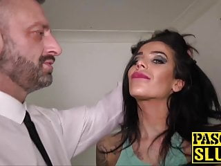 Sex domination discipline Super hot subslut choked and pussy disciplined by pascal